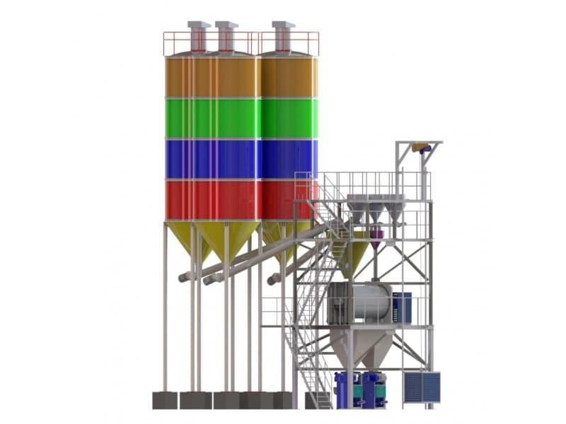 Construction Chemicals Plant