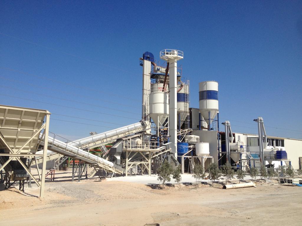 Irak-Kerbela Kurutma, Kırma, Eleme ( 3 hat Yapı Kimyasalları Tesisi ) 30 ton/s