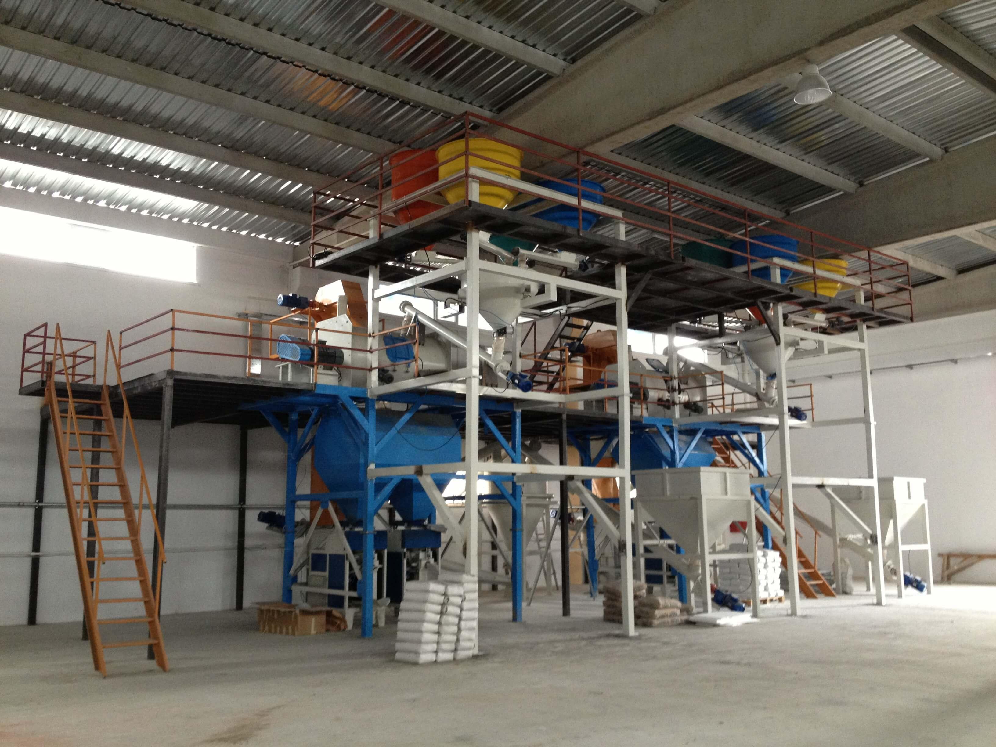 Nigde Construction Chemicals Plant 12 ton/h