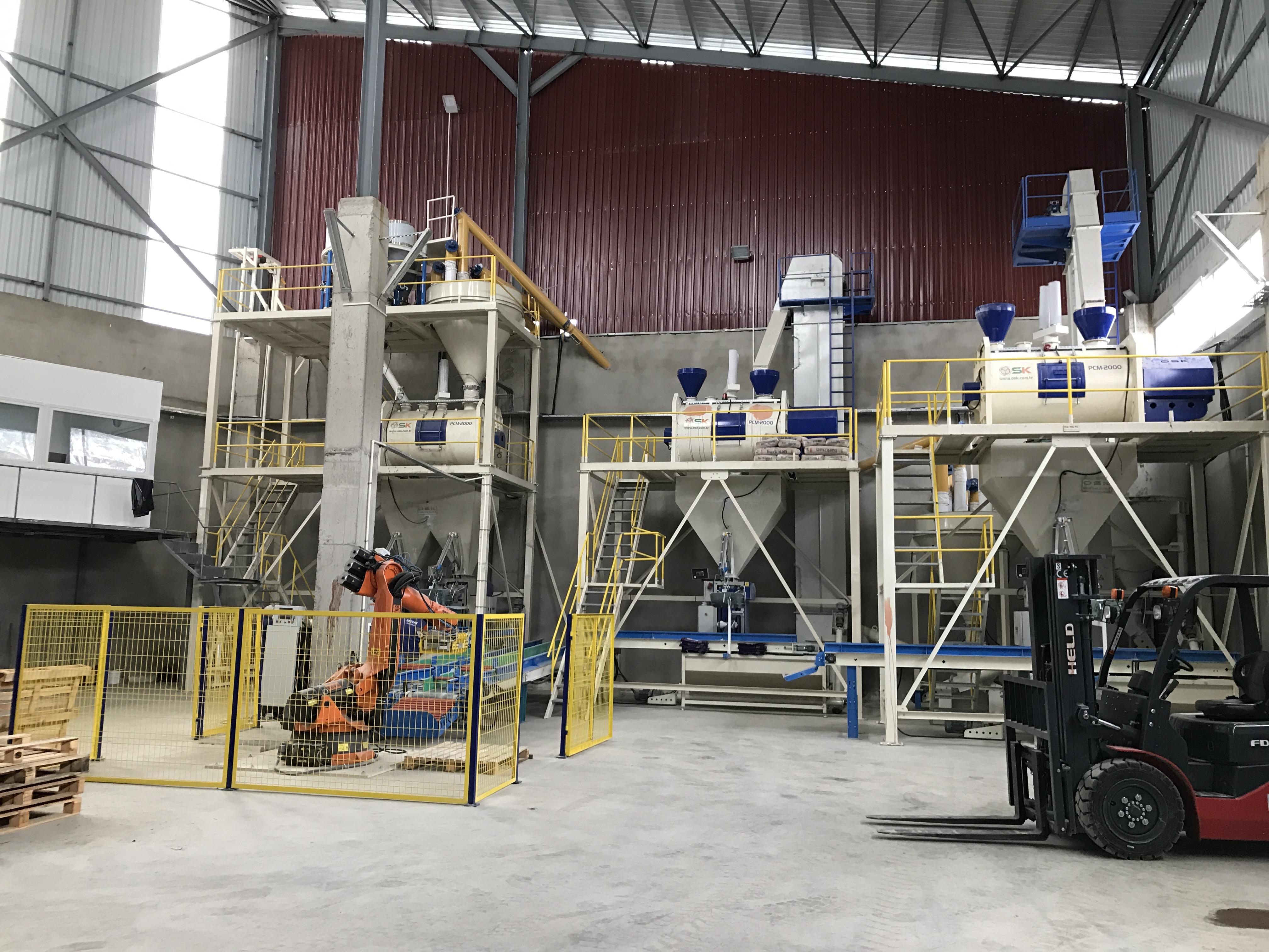 Giresun Yapı Kimyasalları Tesisi 24 ton/s
