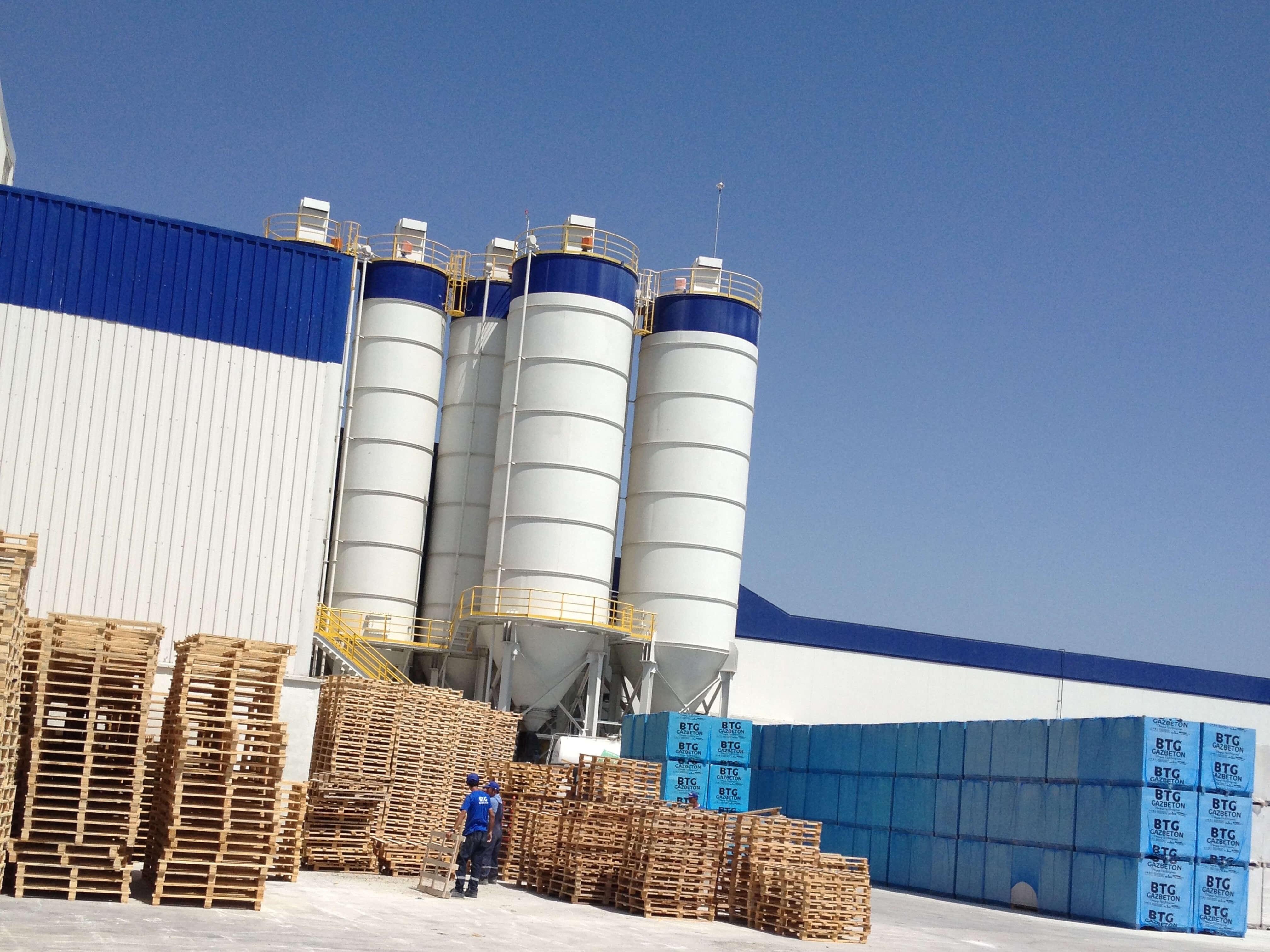 Osmaniye Gas Concrete Adhesive Installation 12 ton/h