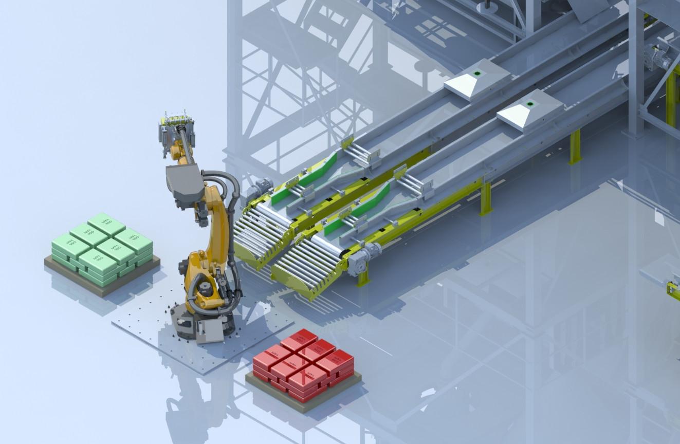 Robotic Paletizing Unit