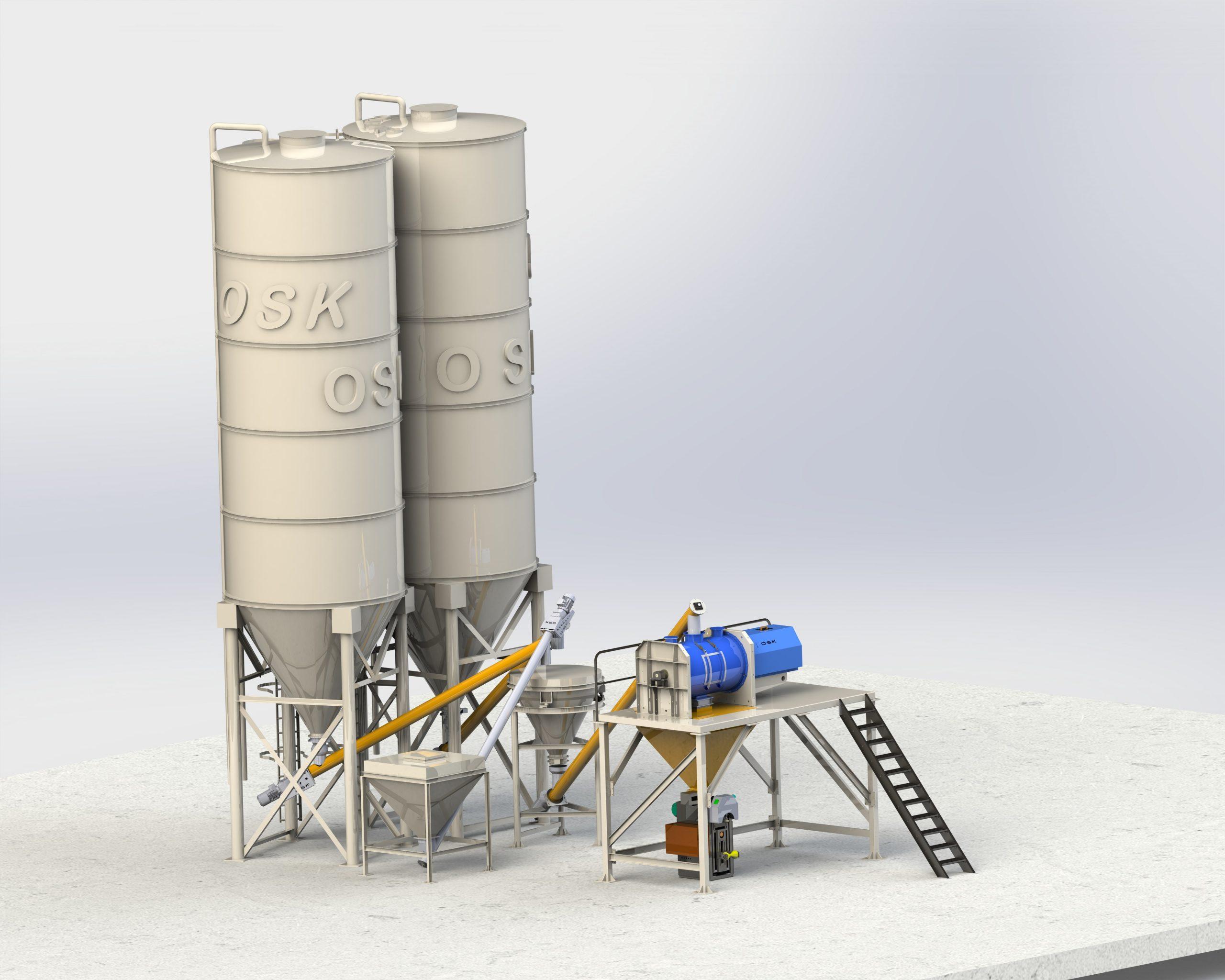 Yapı kimyasalları tesisi 4-6 ton/s